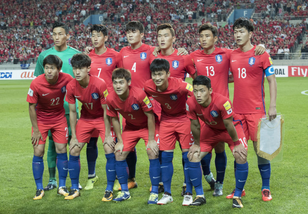 South Korea - Iran 2018 Russia World Cup Asia Qualifier Match