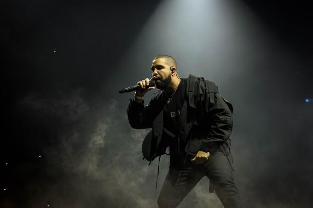 Drake Performs in Toronto