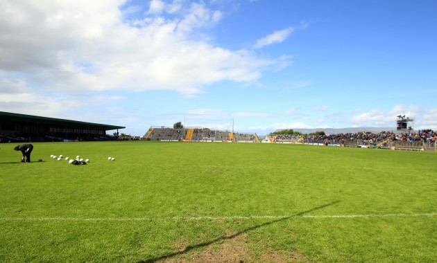 A general view of Markievicz Park
