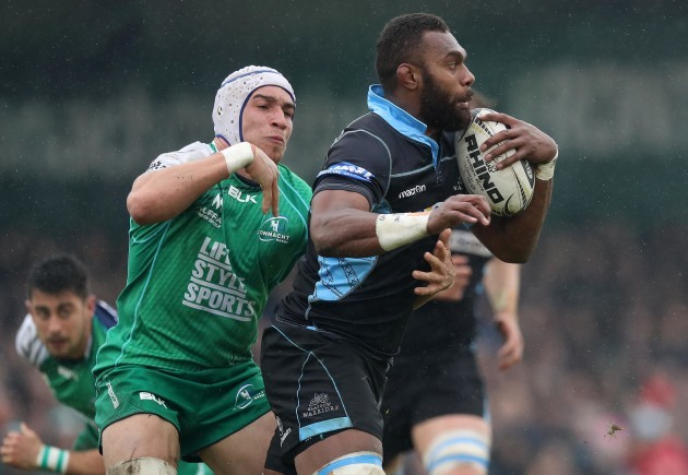 Ultan Dillane and Leone Nakarawa