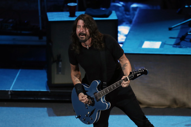 Greece: Foo Fighters concert in Athens