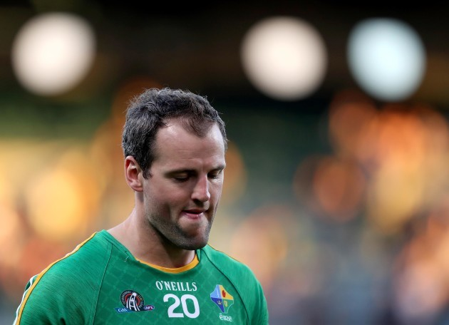 Michael Murphy dejected after the game