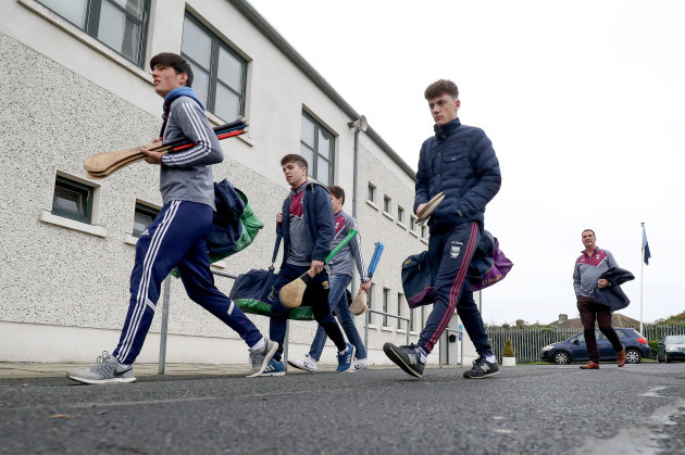 St.Martin's arrive at Parnell Park