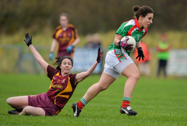 St Macartan's v Carnacon - All-Ireland Ladies Football Senior Club Championship Semi-Final