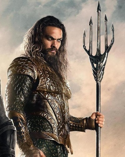 Guinness Sent Jason Momoa A Customised Aquaman Beer Tap To