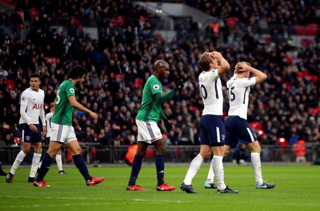 Tottenham Hotspur v West Bromwich Albion - Premier League - Wembley Stadium