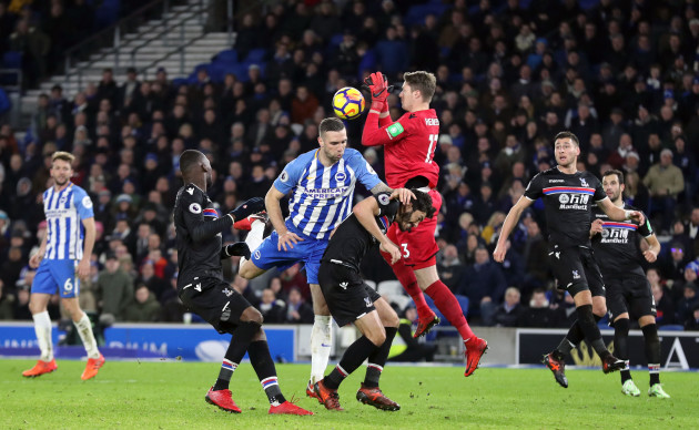 Brighton and Hove Albion v Crystal Palace - Premier League - AMEX Stadium