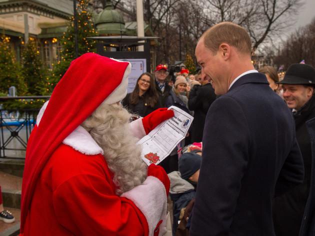 Royal visit to Finland