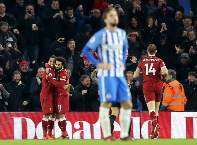 Brighton and Hove Albion v Liverpool - Premier League - AMEX Stadium