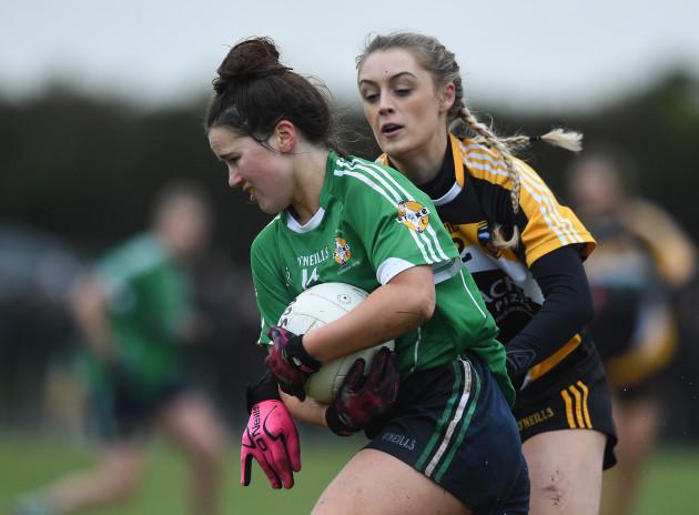 Aghada, Cork v Corduff, Monaghan - All-Ireland Ladies Football Junior Club Championship Final