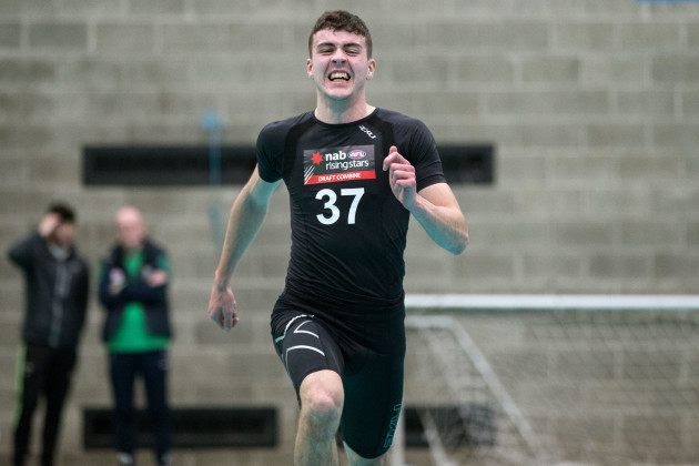 James Madden during the beep test