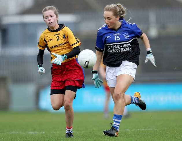 Rachel McDermott with Sadbh O'Leary