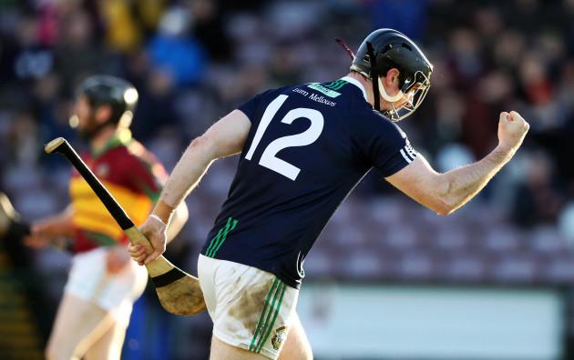 Aonghus Callanan celebrates scoring a goal