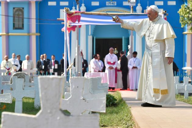 Pope Francis visits Bangladesh