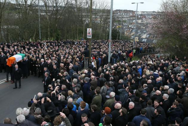 Martin McGuinness funeral