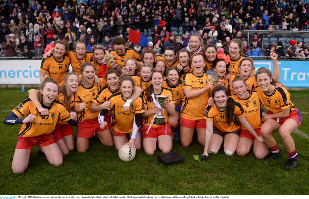 Dunboyne v Kinsale - All-Ireland Ladies Football Intermediate Club Championship Final