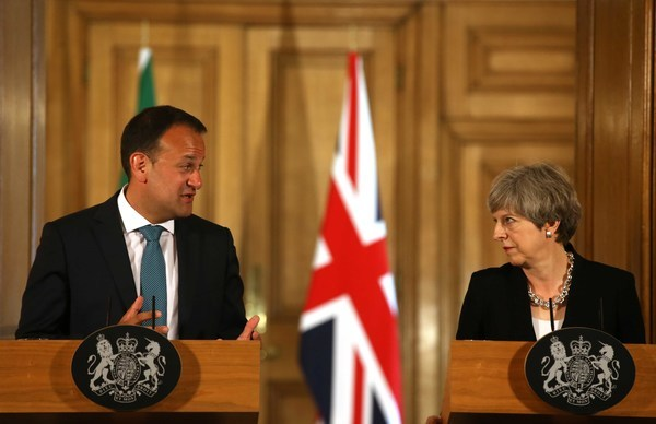 File Photo The UK has conceded to EU negotiators that there will be no divergence of the rules covering the European Union single market and customs union on the island of Ireland post Brexit, according to a draft negotiating text seen by RTÉ News. The c