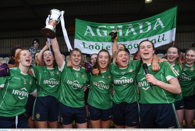 Aghada v Corduff - All-Ireland Ladies Football Junior Club Championship Final