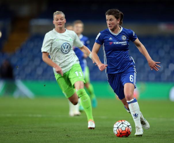 Chelsea v VFL Wolfsburg - UEFA Women Champions League