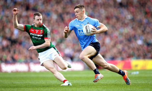 Con O'Callaghan with Colm Boyle