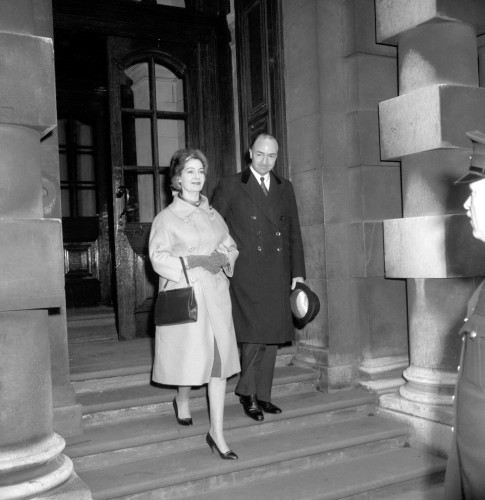 Profumo Affair - John Profumo at the War Office - London