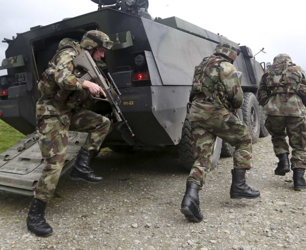 File Photo You're talking about going to war': TDs concerned EU defence deal could lead to Ireland joining a European army. NUMEROUS TDS and senators have voiced their concerns about Ireland signing up toÊa European defence pact known as Pesco. The plan h