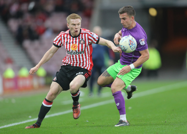 Sunderland v Bristol City - Sky Bet Championship - Stadium of Light