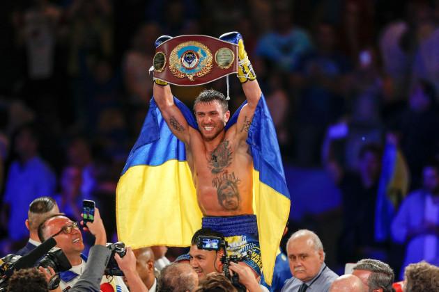 Vasyl Lomachenko v Roman Martinez - Boxing