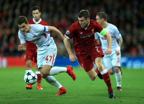 Liverpool v Spartak Moscow - UEFA Champions League - Group E - Anfield