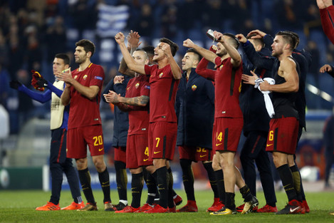 Italy: Roma vs Qarabag-UEFA Champions League