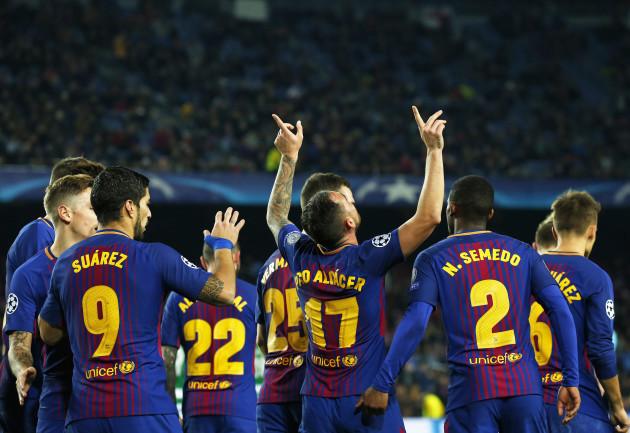 Spain: FC Barcelona v Sporting CP - UEFA Champions League