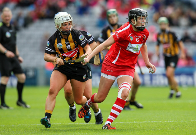 Gemma O'Connor with Shelly Farrell