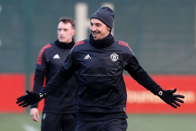 Manchester United Press Conference and Training Session - AON Training Complex