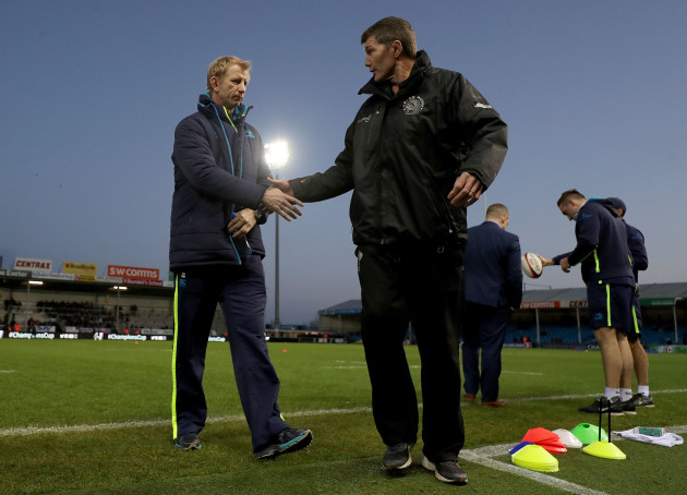 Leo Cullen and Rob Baxter