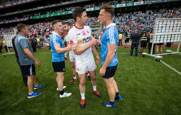 Paul Flynn with Sean Cavanagh