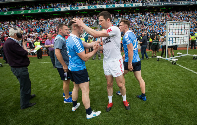 Philip McMahon with Sean Cavanagh