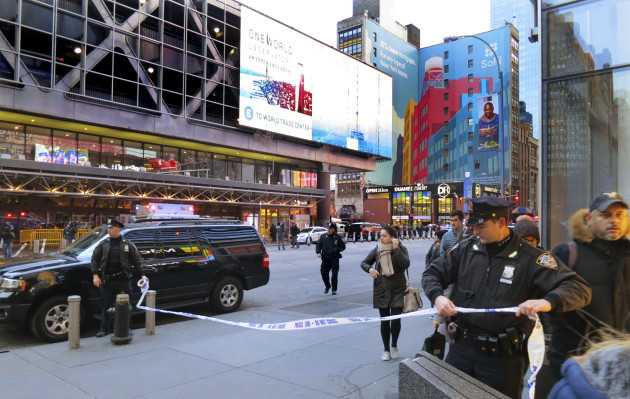 NYC Subway Platform Explosion