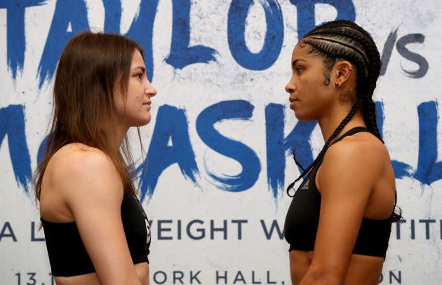 Katie Taylor and Jessica McCaskill