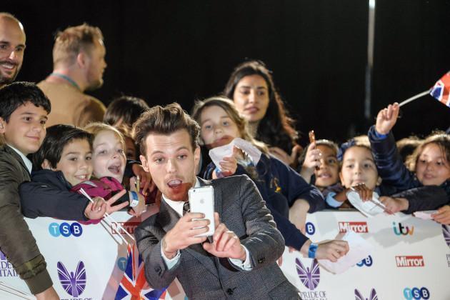 The Pride of Britain Awards 2016 - London