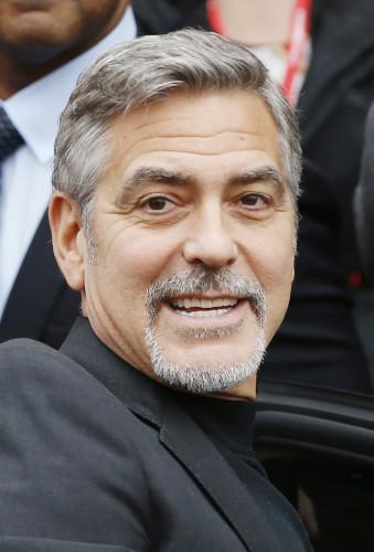 George Clooney visit to Scotland