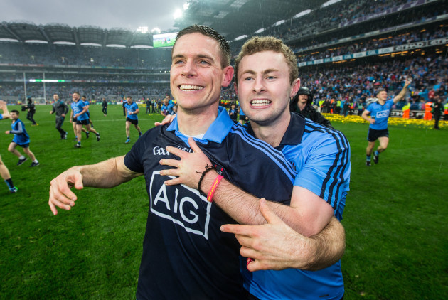 Stephen Cluxton and Jack McCaffrey