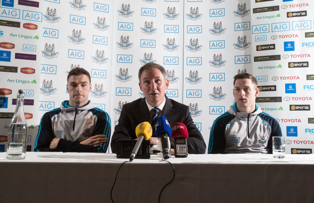 Paddy Andrews, Jim Gavin and Philly McMahon