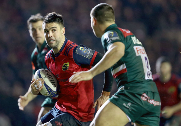 Conor Murray and Ben Youngs 17/12/2017