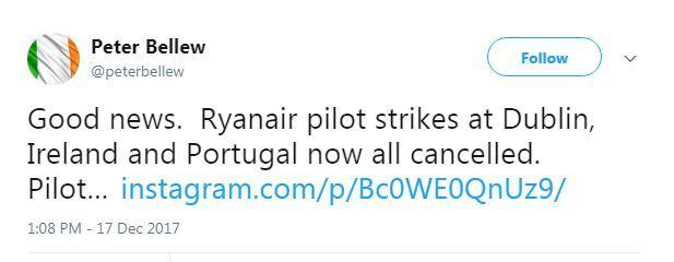 ryanair strike off