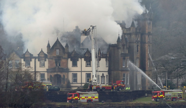 Cameron House Fire Sees Crews Battle Luxury Hotel Blaze