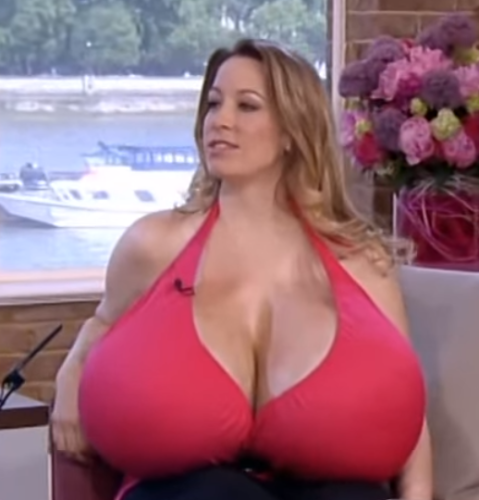 3 boob woman