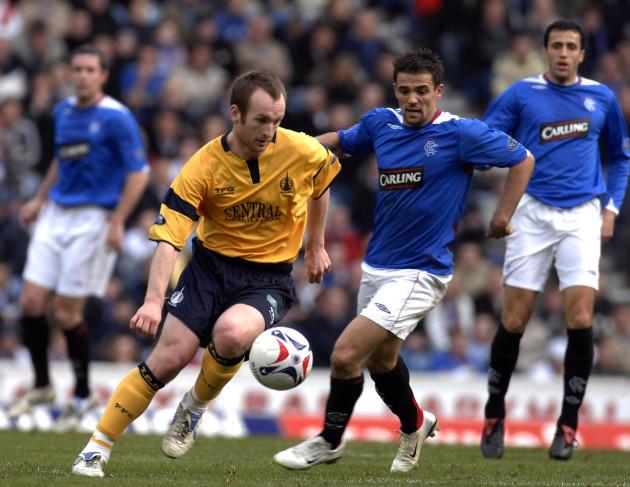 Soccer - Bank of Scotland Premier League - Rangers v Falkirk - Ibrox Stadium