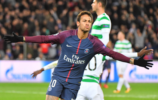 Champions League - Paris Saint-Germain v Celtic Glasgow