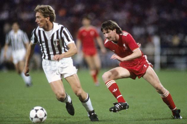 Soccer - European Cup - Final - Liverpool v Juventus - Heysel Stadium