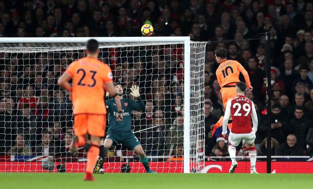 Arsenal v Liverpool - Premier League - Emirates Stadium